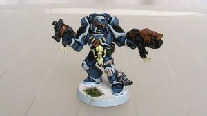 Space Wolves Soldier by Kasuki-Seal