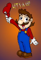 Mario Waving Cap by DairyKing