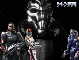 Mass Effect Wallpaper 2 by EmpressZanna