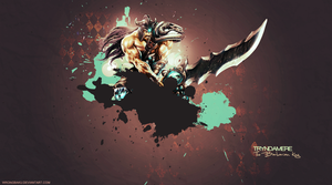Tryndamere Wallpaper by WrongBaku