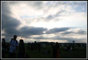 Summer Solstice at Stonehenge V by DarkestFear