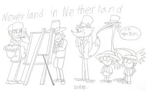Neverland in Netherland by komi114