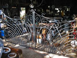 The 'Guimard Gate' finished by ou8nrtist2