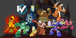 Robot Masters: The First Wily Army by Marioshi64