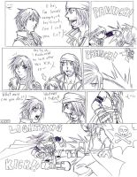 FFXIII - Lightning Punch by Ra-HiME