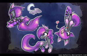 Star Dust color sketches by Mahsira