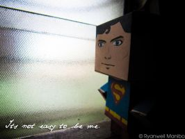 Superman Danbo by ryanwell