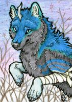 ACEO- Winter Sun by cloudstar-wolf