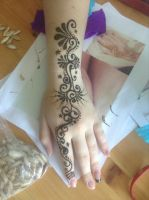 Henna Design by BlackWaterPanther