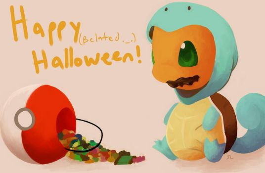 Happy Belated Halloween by JoyceLee