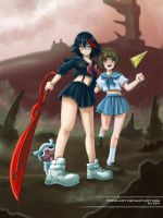 Kill la Kill by pizzalady