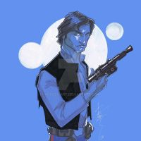 12x12 Han Solo SLC by Hodges-Art