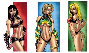 Project DIVAS: Trinity colored by TheBob74