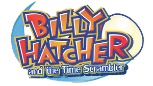 Billy Hatcher and the Time Scrambler Logo by faster-by-choice