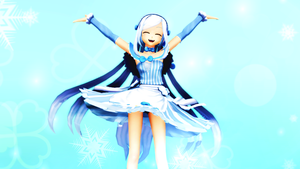 MMD - My Blue World by YellowDesuCake