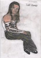 Jeff Hardy sitting. by MelyssaThePunkRocker