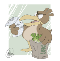 POKEDDEX DAY 27: Farfetch'd by SharpDressedReptile