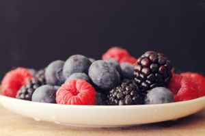 Bowl of berries by LittleWastedPerson