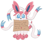 PokeShaming Sylveon by Artygal