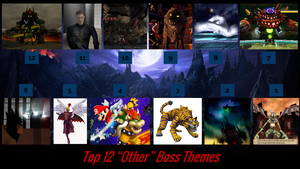 Top 12 Other Boss Themes by JJHatter