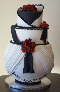 Izumik wedding cake by see-through-silence