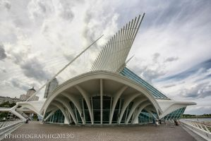 Bryan Treiber Milwaukee Art Museum 2013 1 by BPhotographic
