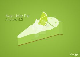 Android 5.0 Key Lime Pie (Early Version 1) by raintomista