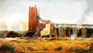 Industrial ghost structure by The-Ronin-Artist