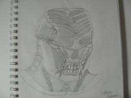 H.R. GIGER inspired alien design by monkeythe13th