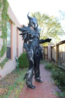 Skyrim Daedric Armor build, female by lsomething