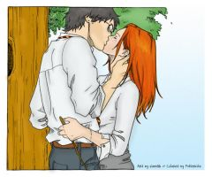 Harry and Ginny by Nami86 by Pottercita