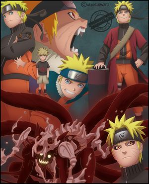 ��� ��� ������ Naruto_through_the_years_by_DemonFoxKira.png