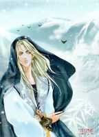 Snow mountain by levineh