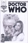 Doctor Who blank sketch cover commission by smoothdaddyride