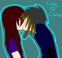 Cole and Ciara by VioletEchoBone