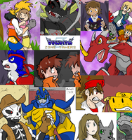 Digimon Zone Previews by BlueIke