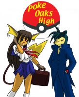 Poke Oaks High's Rei and Ty by Inspectornills