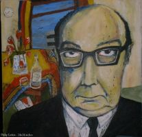 Philip Larkin by lupercal