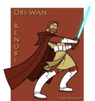 Clone Wars Obi-Wan Kenobi by Cryptikz