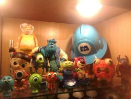 Pixar figures by thereanimatedunknown