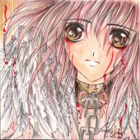 Blood-stained Tears by Angeliko