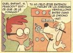 Mr. Peabody and Sherman Comic in French by Mead1992