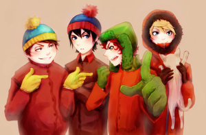 South Park by EvrisBS