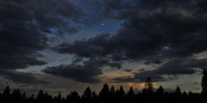 Distant moon by lucium55