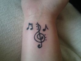 My Love For Music by artistbee8