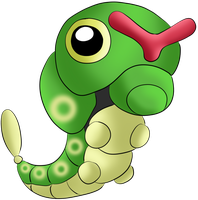 #010 Caterpie by Icedragon300