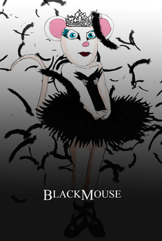 Black Mouse by JessicaRaven
