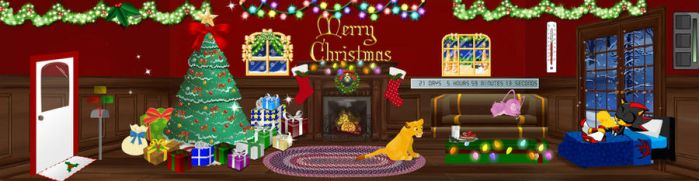 Christmas Room on Whirled Updated by shadowhorsegirl28
