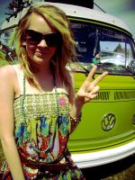 peace, love, and hippie vans. by hellodearr