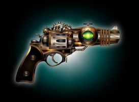 Steam powered Colt V2 by IllustratorG